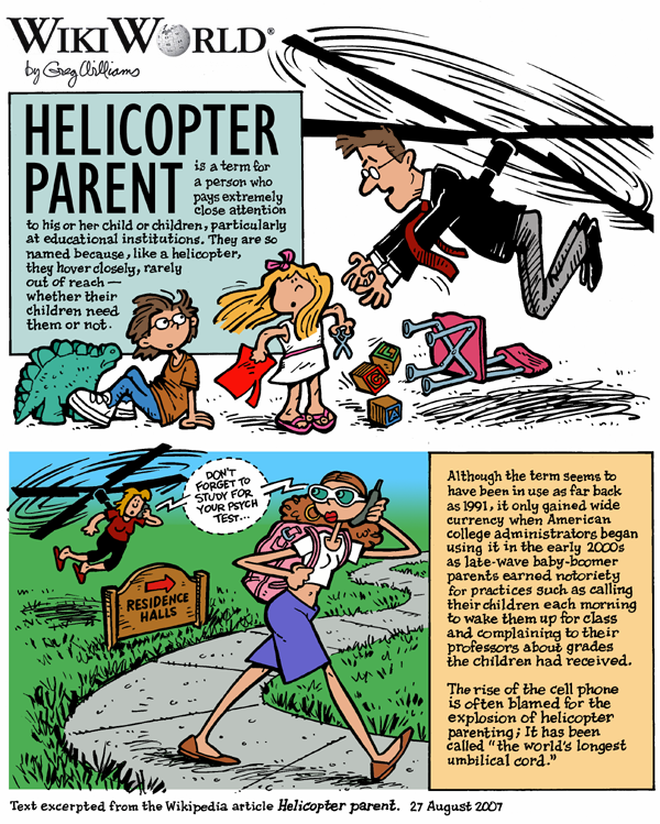argumentative essay helicopter parents Everyone talks about how helicopter parents are bad for teens what about college kids.